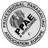 asociación europea de monitores de parasailing